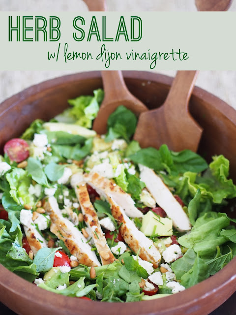 homemade lemon dijon vinaigrette