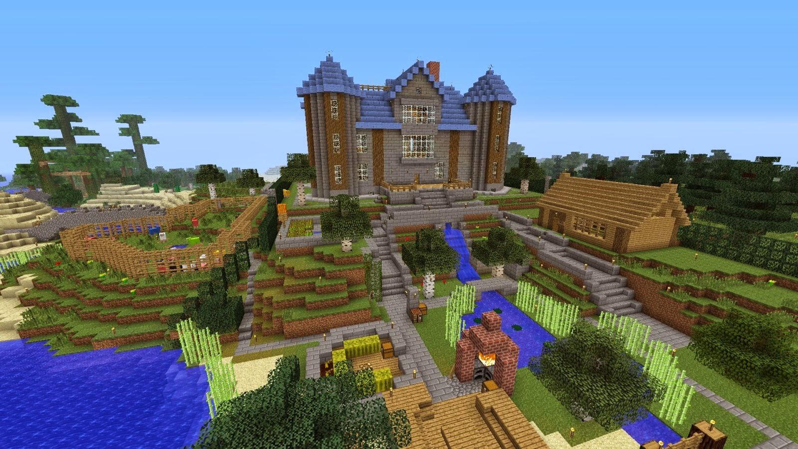 Bauideen minecraft minecraft ideen 2 - Minecraft projekte ...