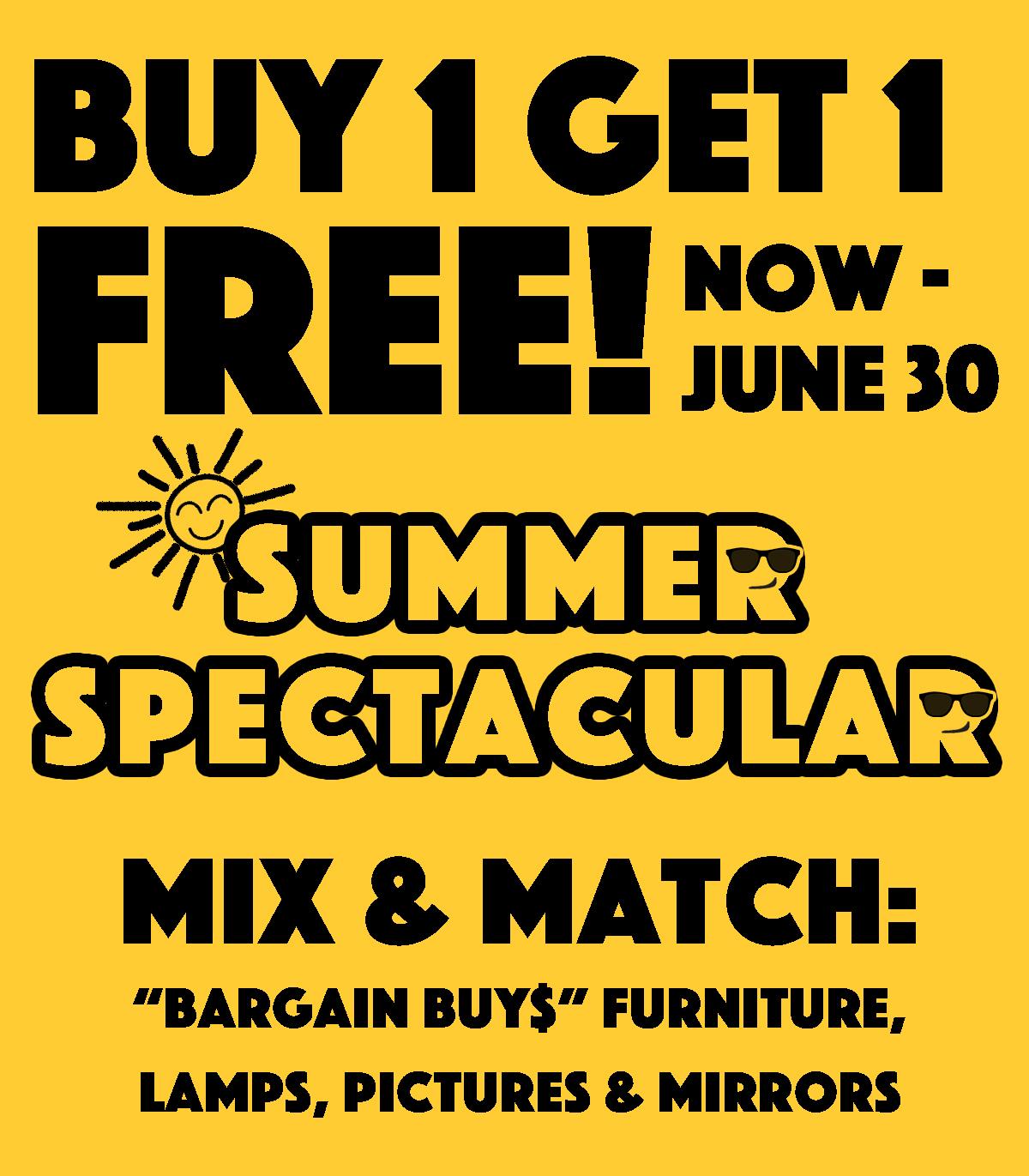 JUNE SALE - Buy 1 Get 1 FREE!