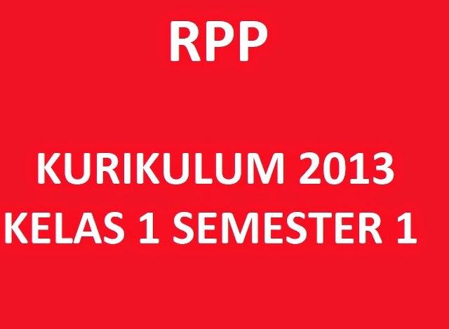 Rpp Kelas 1 Semester 1 Kurikulum 2013 Kelas Pak Pris
