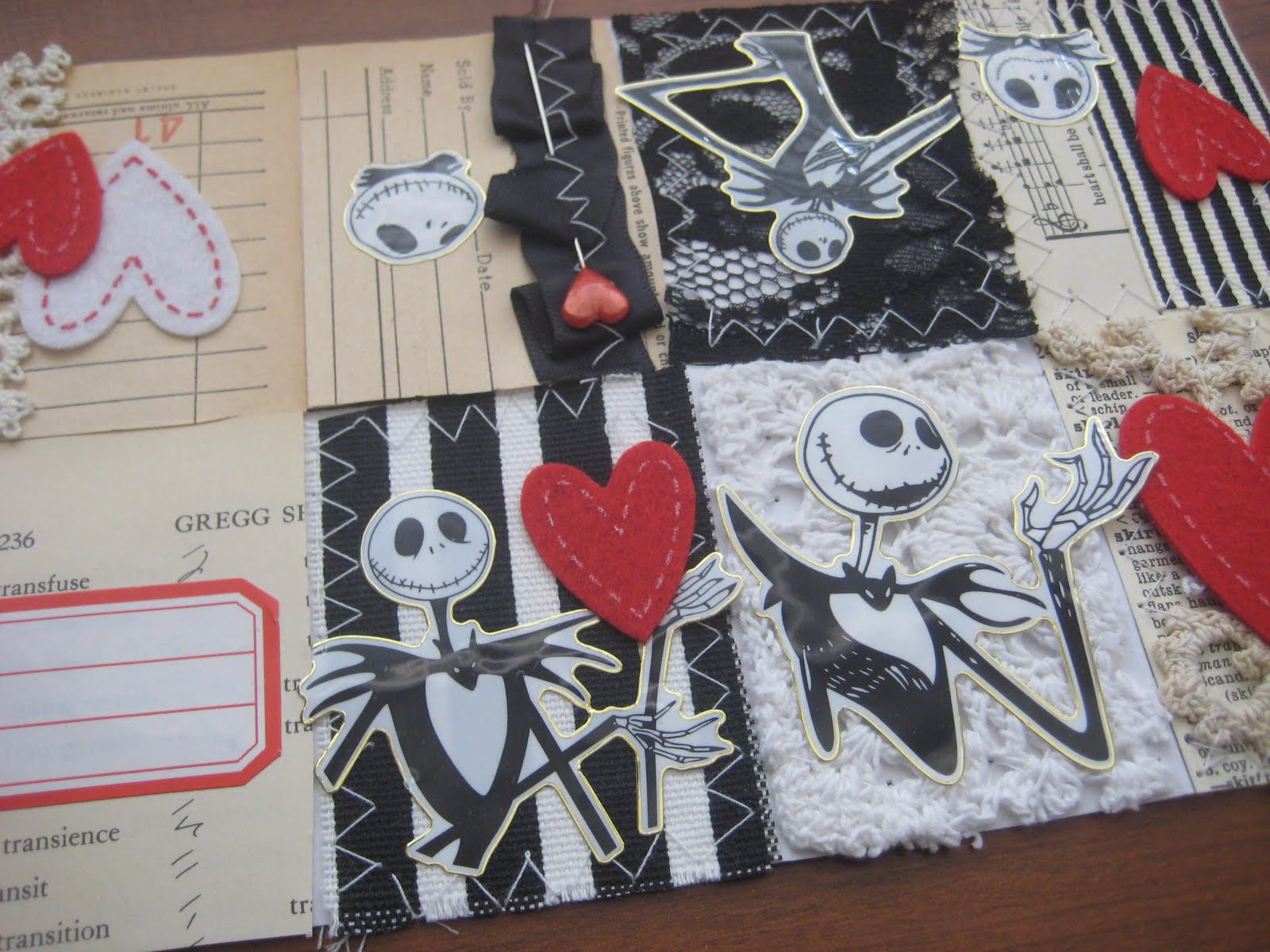Jessica Rodarte: nightmare before christmas jack skellington tiny book