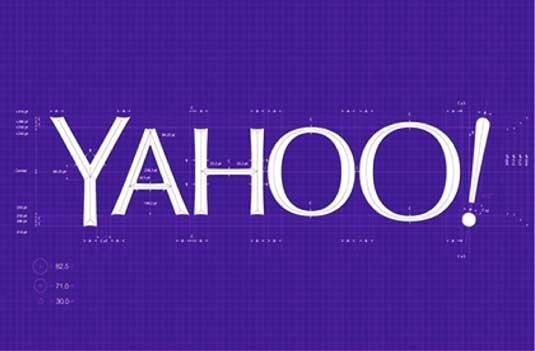(Chú thích ảnh: Logo Yahoo là 1 trong những thiết kế gây nhiều tranh cãi)