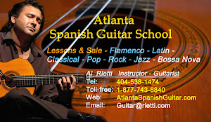 Atlanta Spanish Guitar School Lessons and Sale