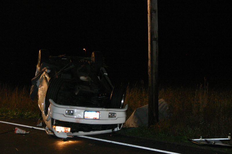 Vehicle Accident News Stories & Articles: Rt  301 Roll Over Crash