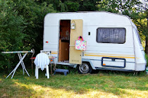 Visit my tiny Craftavan studio in France