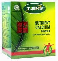 susu kalsium peninggi badan tiens
