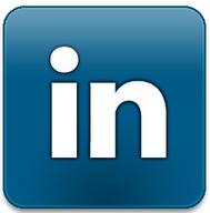 Linkedin blogger modèle blog bouton