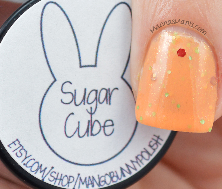 Mango Bunny Pony Palooza Sugar Cube swatches