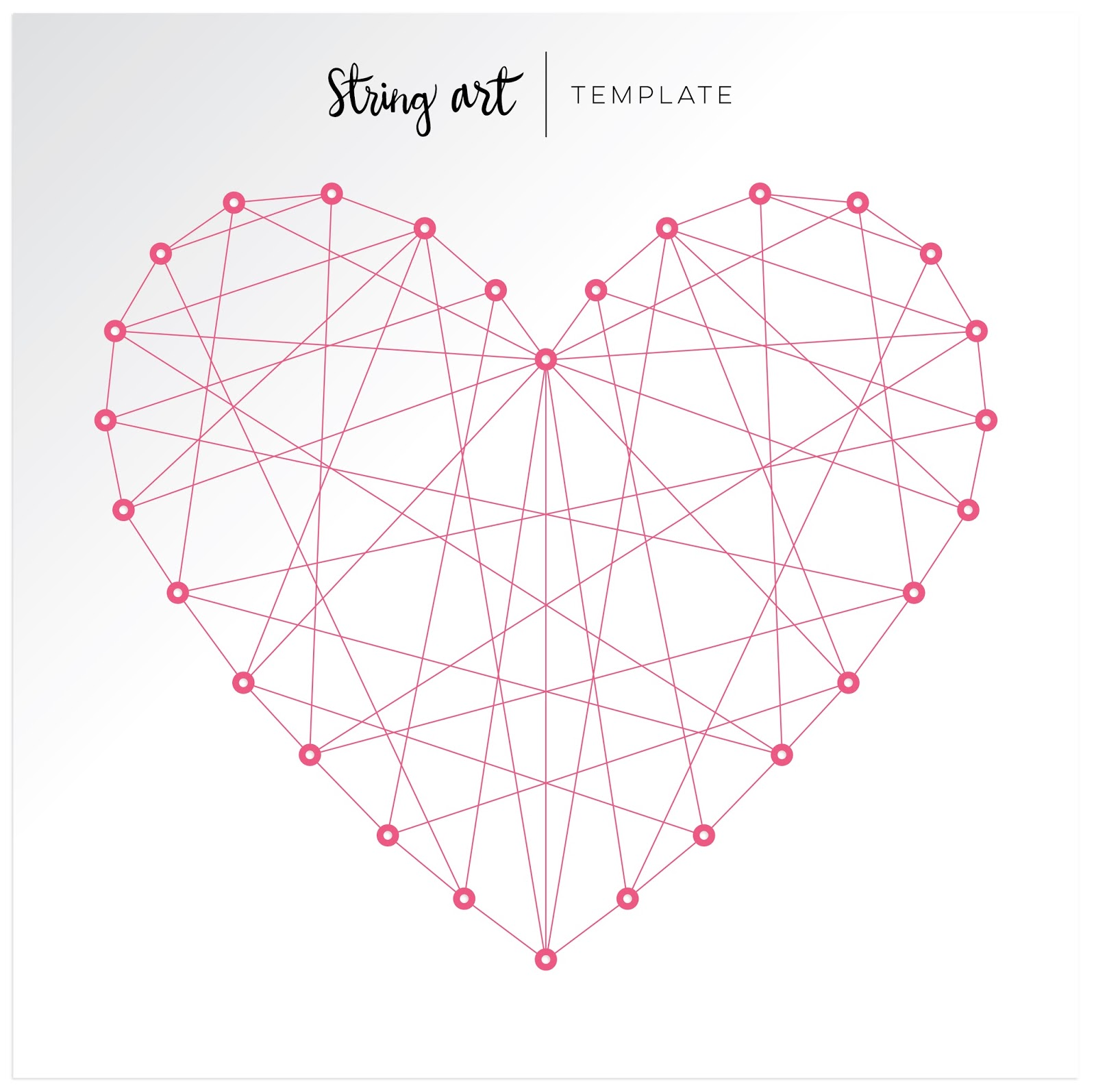 Colorful happy layout paige taylor evans - String art modele ...
