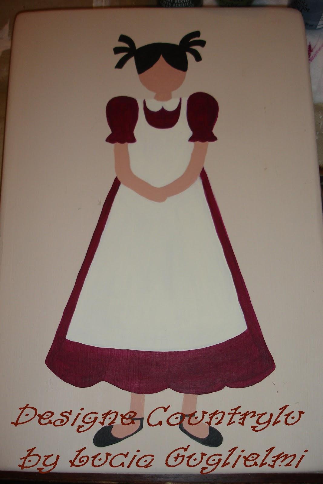 Popolare ♥ Countrylu ♥: Country painting free patternVi presento la  UW88