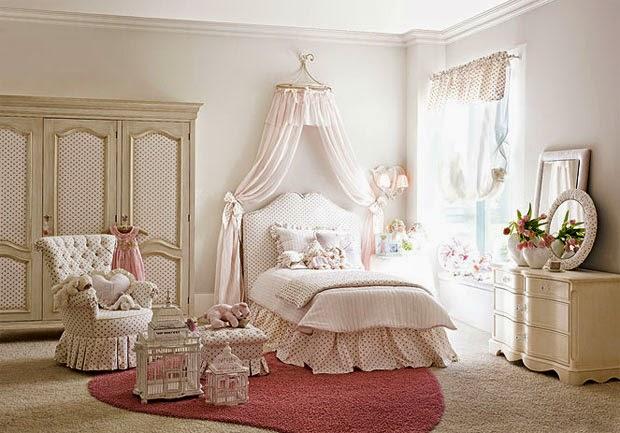 Decoracion vintage habitacion ni a for Decoracion dormitorio nina