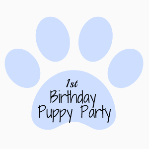 The Last Few Weeks I Have Been Posting About My Sons 1st Birthday Themed Puppy Party This Is Post Promise