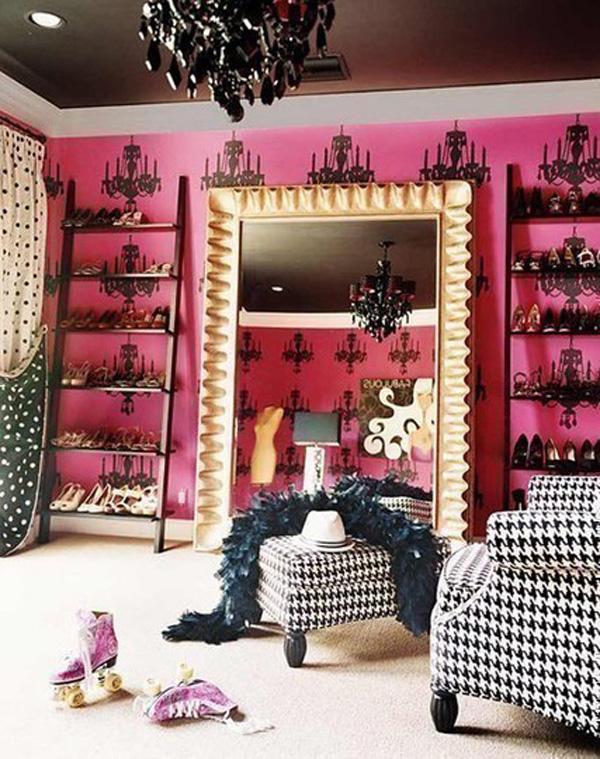 closet - wardrobe - roupas - quarto - decoração - miley cyrus