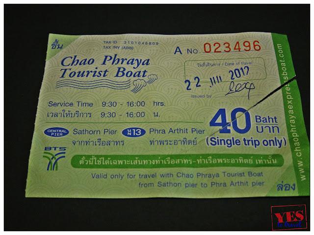 Chao Phraya Tiver Ferry