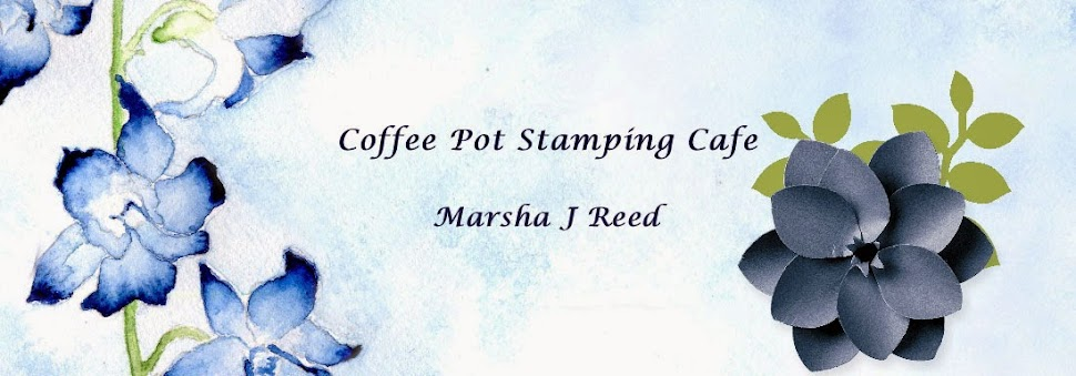 Coffee Pot Stamping Cafe