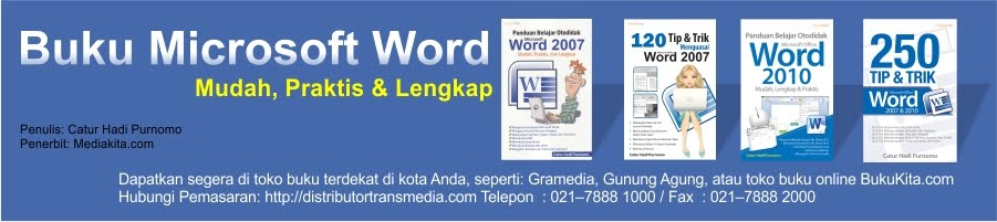 Tutorial Belajar Microsoft Word