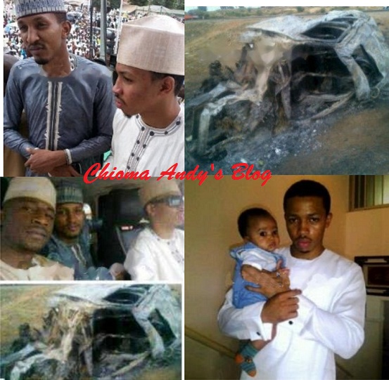 Pictures of Late Sokoto State Deputy Governor Son's Who Died in An Accident chiomaandy.com