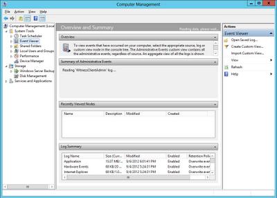 Windows Server 2012 Computer Management