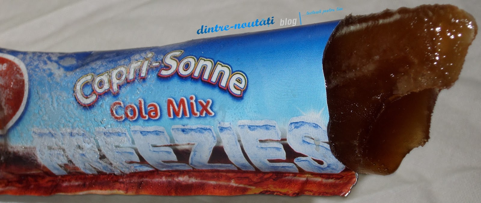 Băutură pentru înghețat cu gust de cola și citrice, fără cafeină