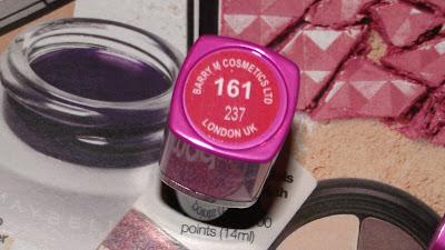 Barry M Ultra Moisturising Lipstick Review - 161 Flamingo peach