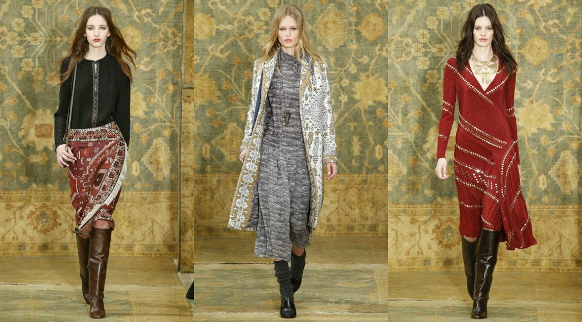 Tory Burch AW15 New York Fashion Week