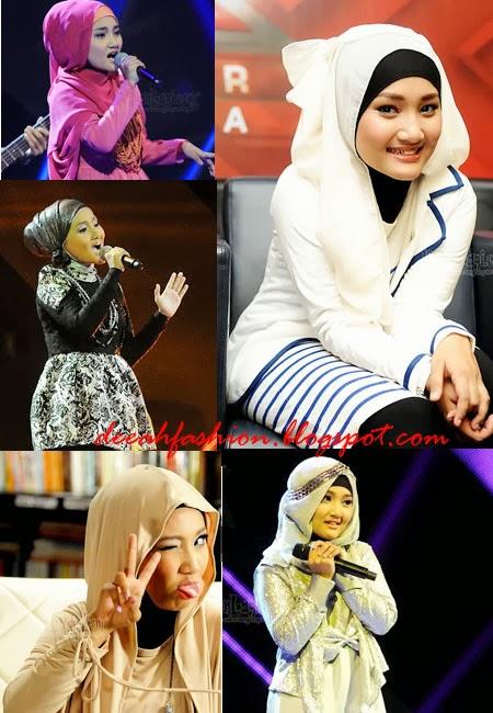 Jilbab Remaja ala Fatin Shidqia Lubis Fatin Hijab Style