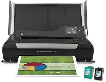 HP multifunction mobile printer is all-in-one printer