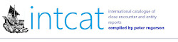 INTCAT CATALOGUE OF ENTITY REPORTS