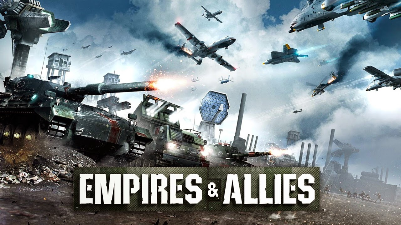 Empires and Allies Gameplay IOS / Android