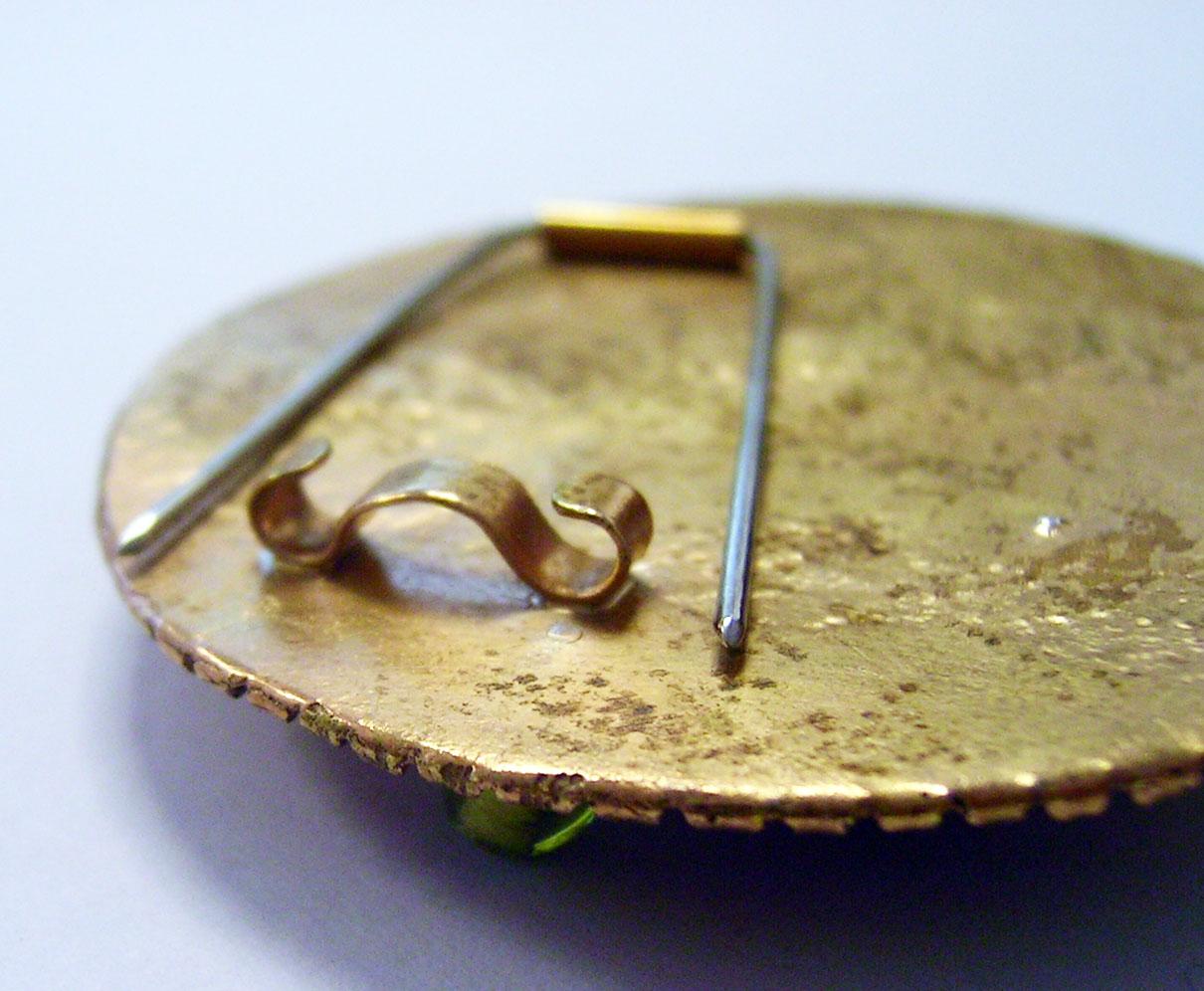 fluxplay simple brooch pin backs