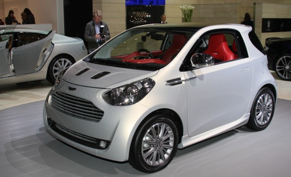 Look At the Car: 2013 Aston Martin Cygnet