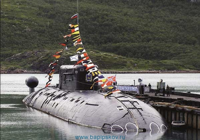 """Nuclear submarine """"Pskov"""" returned to the Russian Navy 96"""