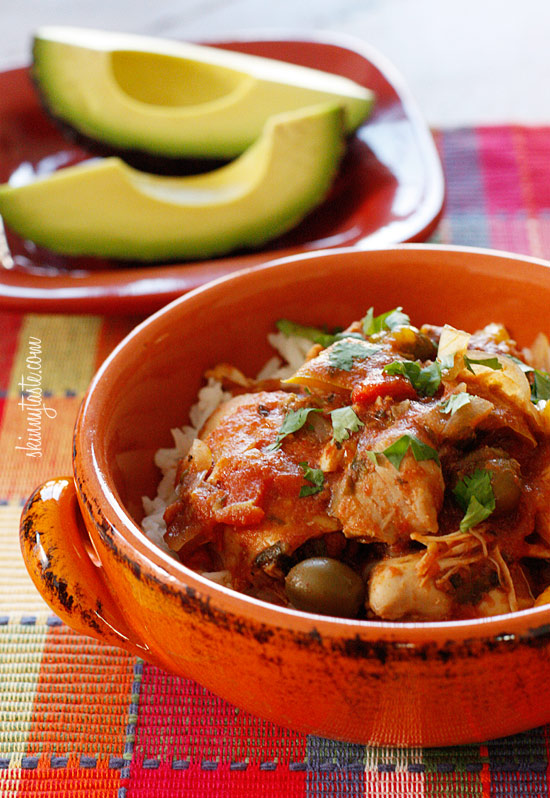 Crock Pot Chicken a la Criolla | Skinnytaste