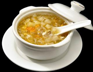Sup Asparagus Jagung Manis Kepiting Udang