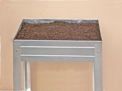 mesa de cultivo de 75cm x 50 x 85