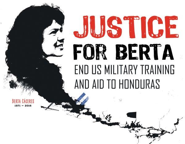 JUSTICE FOR BERTA!