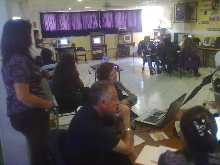 CURSO DE RELEVANCIA EDUCATIVA A LOS PROFESORES DE LA SEP EN EL AULA DE MEDIOS DE MUESTRA ESCUELA