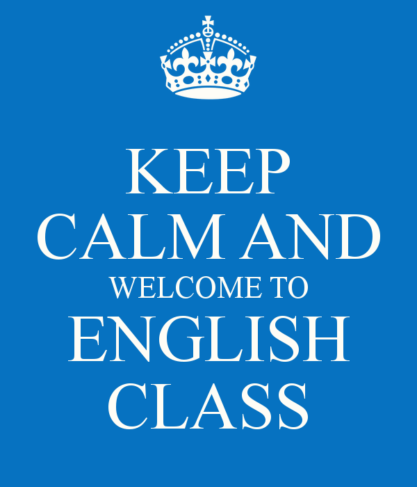 Image result for welcome back to English class