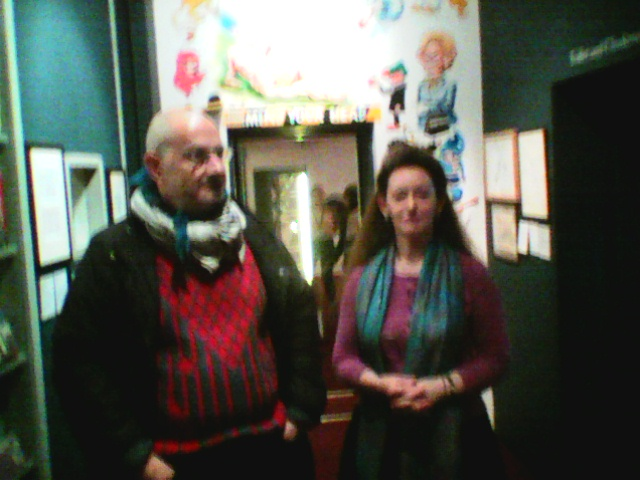 koutarelli in london cartoon museum  2016