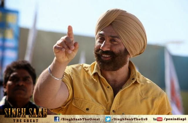 Latest New Stills from Singh Saab The Great