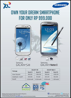 Promo Samsung Galaxy Note II
