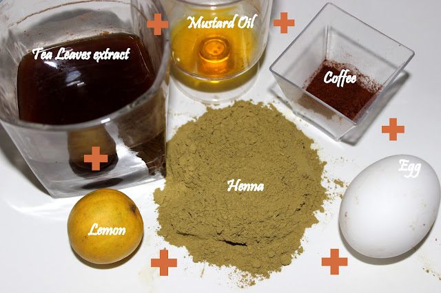 Ingredients of Henna for Hair Conditioning