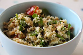 Syn free couscous salad a lighter Slimming World lunch