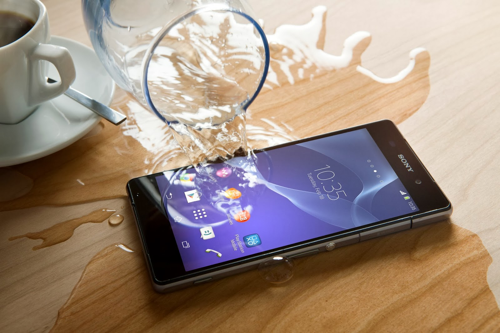 Sony Xperia Z2 Water proof