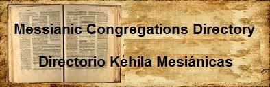 Messianic Jewish Congregations Directory - Directorio Congregaciones Mesianicas