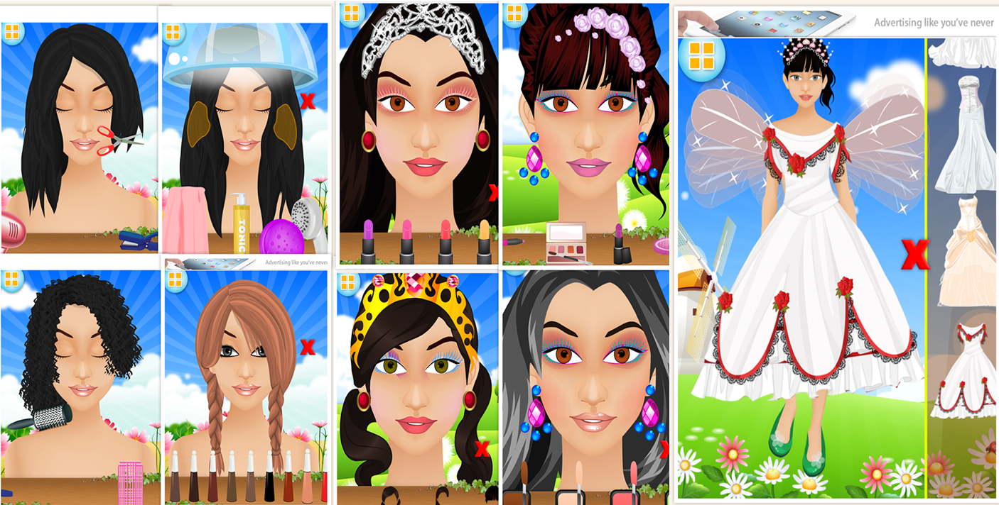 android girls game