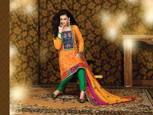 Designer Salwar Kameez Suits, Party Wear Churidar Salwar Kameez in UK
