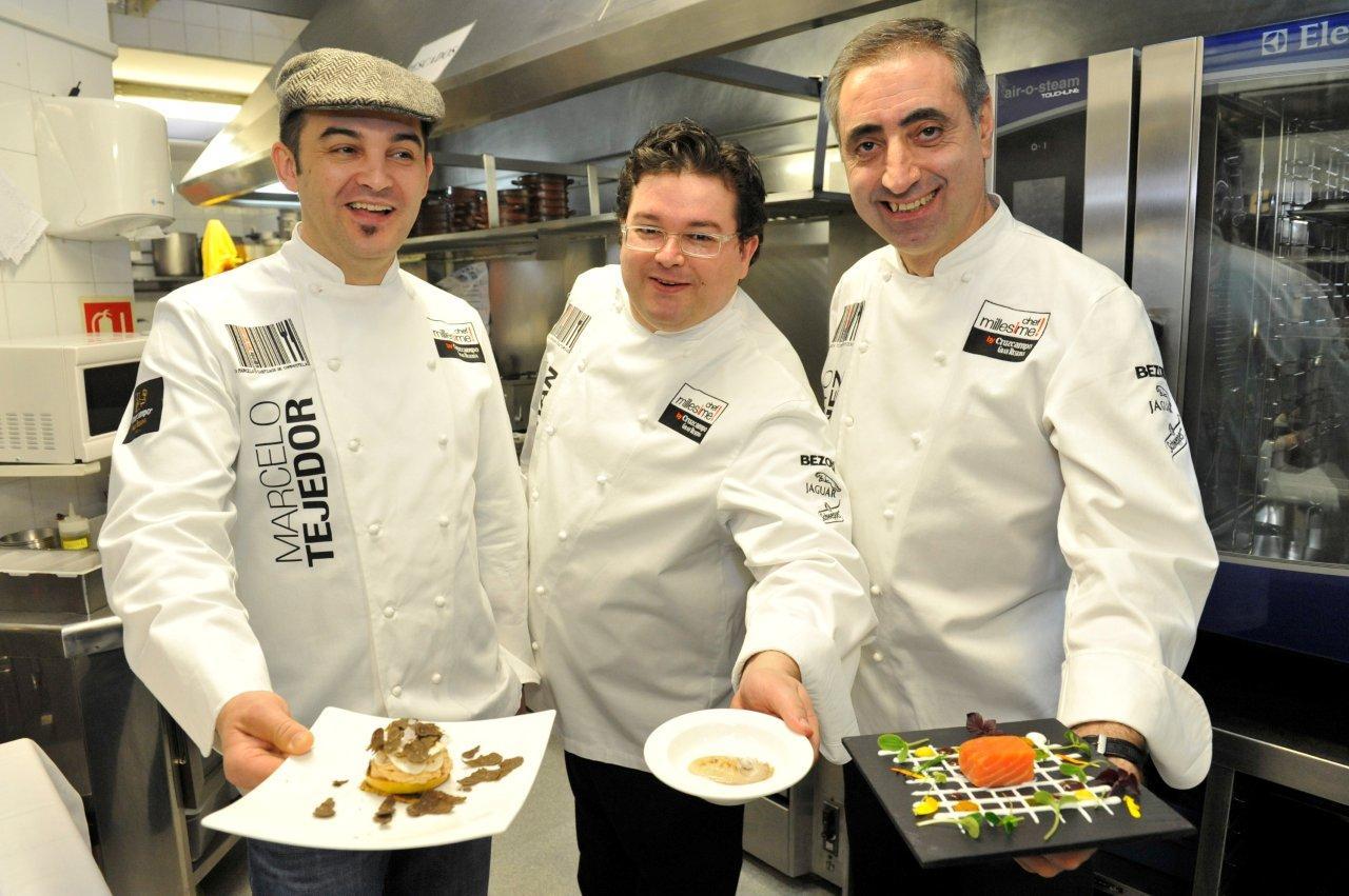 Gastronomoyviajero chef millesime arranca su segunda edici n for Cocinero en frances