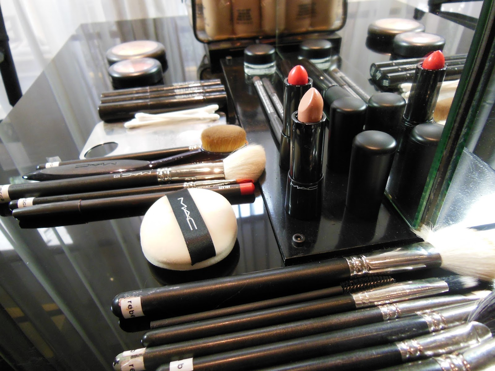 MAC makeup ready for the BAFTAs