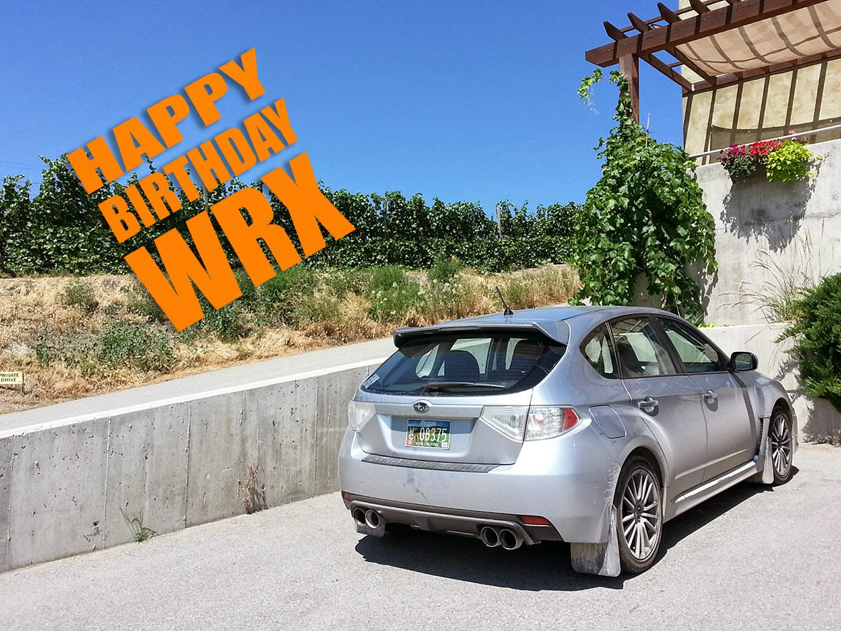 Happy Birthday To OuR WRX
